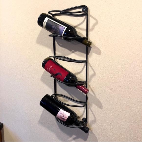 Other - Black wine rack